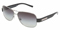 Dolce & Gabbana Mens Black Frame Grey Lens Sunglasses