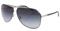 Dolce & Gabbana Womens Silver Frame Grey Lens Sunglasses
