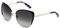 Dolce & Gabbana Purple And Gold Butterfly Womens Sunglasses