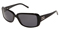 Dolce & Gabbana Womens Black Frame Grey Lens Sunglasses