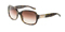 Dolce & Gabbana Womens Green Tortoise Frame Brown Lens Sunglasses