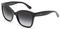 Dolce & Gabbana Black Square Womens Sunglasses