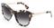 Dolce & Gabbana Iced Havana Grey Cat Eye Womens Sunglasses