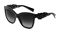 Dolce & Gabbana Spain In Sicily Black Square Womens Sunglasses