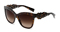 Dolce & Gabbana Spain In Sicily Dark Havana Brown Square Womens Sunglasses