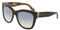 Dolce & Gabbana Top Black Handcart Square Womens Sunglasses