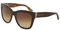 Dolce & Gabbana Top Havana Handcart Square Womens Sunglasses