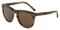 Dolce & Gabbana Striped Tobacco Phantos Mens Sunglasses