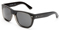 Dolce & Gabbana Crystal And Black with Gradient Lenses Square Mens Sunglasses