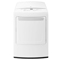 LG White Electric Dryer