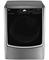 LG Graphite Steel TurboSteam Gas Dryer