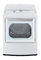 LG Ultra Large Capacity White High Efficiency Gas Dryer