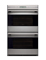 "Wolf E Series 30"" Stainless Steel Built-In Double Electric Wall Oven"