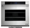 "Dacor Distinctive 30"" White Glass Electric Wall Oven"