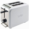 DeLonghi White kMix 2-Slice Toaster
