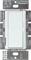 Lutron Diva White 300-Watt Single Pole Electronic Low-Voltage Preset