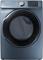 Samsung Azure Blue Gas Steam Dryer