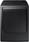 Samsung Black Stainless Steel Electric Steam Dryer