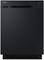 "Samsung 24"" Built-In Black Dishwasher"