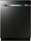 "Samsung 24"" Built-In Black Stainless Steel Dishwasher"
