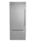 "Dacor Discovery 36"" Stainless Steel Fully Integrated Bottom Freezer Refrigerator"