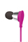 AT&T JIVE Pink In-Line Mic Earbuds