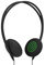 InCase Pivot Black and Green On Ear Headphones