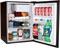 Haier Black Undercounter Refrigerator