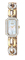 Citizen Eco-Drive Silhouette Crystal Jewelry Womens Gold Tone Watch