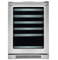 "Electrolux 24"" Stainless Steel Under Counter Wine Cooler"