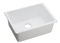 Elkay White Gourmet E-Granite Single Bowl Undermount Sink