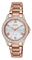 Citizen Eco-Drive POV Pink Gold Tone Womens Watch