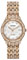 Citizen Eco-Drive Silhouette Crystal Rose Gold-Tone Womens Watch