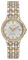 Citizen Eco-Drive Silhouette Crystal Two-Tone Womens Watch