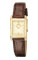 Citizen Eco-Drive Brown Strap Womens Watch