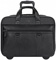 "Solo Bradford Collection Black 17.3"" Rolling Case"