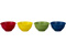 Le Creuset Multicolor Set Of 4 Pinch Bowls
