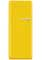 Smeg 50s Retro Style Aesthetic Left Hinge Yellow Refrigerator