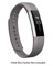 Fitbit Alta Large Graphite Leather Band
