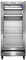 Frigidaire Commercial Stainless Steel Glass Door Merchandiser