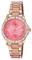 Citizen Eco-Drive POV Pink Gold Tone Stainless Steel Womens Watch
