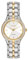 Citizen Eco-Drive Two Tone Stainless Steel Silhouette Crystal Womens Watch
