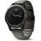 Garmin 47mm Fenix 5 Slate Gray Sapphire With Metal Band GPS Multisport Watch