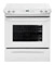"Frigidaire 30"" White Slide-In Electric Range"
