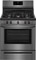 "Frigidaire 30"" Black Stainless Steel Freestanding Gas Range"