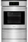 "Frigidaire 24"" Stainless Steel Single Gas Wall Oven"