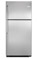Frigidaire 20.5 Cu. Ft. Stainless Steel Top Freezer Refrigerator