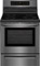 """Frigidaire Gallery 30"""" Black Stainless Steel Induction Range"""