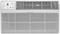 Frigidaire White 12,000 BTU 10.5 EER 230 Volts Wall Air Conditioner