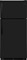 Frigidaire Black Top Freezer Refrigerator
